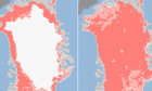 Greenland ice sheet melted at unprecedented rate during July | Climate Policy | Scoop.it