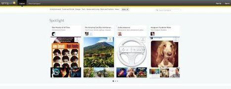 Springpad 3.0 – renovación total, entre Evernote y Pinterest y con funciones colaborativas.- | Formación 2.0 | Scoop.it