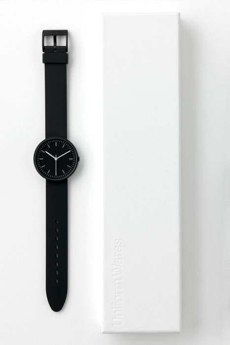 A Closer Look at The Uniform Wares 100 Series Watch | #Design | Scoop.it