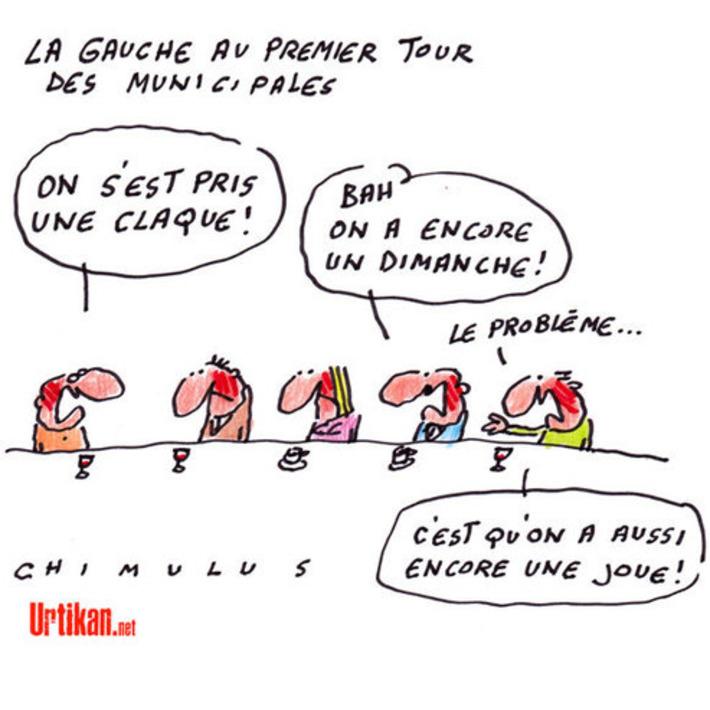 Municipales: la gauche sanctionnée | Baie d'humour | Scoop.it