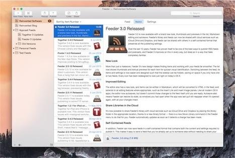 Feeder 3 [pour MacOS] génère des flux RSS avec une nouvelle interface | RSS Circus : veille stratégique, intelligence économique, curation, publication, Web 2.0 | Scoop.it