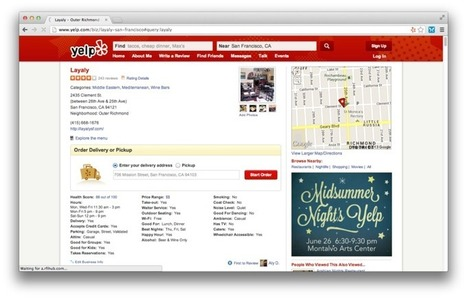 Yelp announces Platform to enable direct transactions | Local Marketing Insights | Scoop.it
