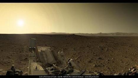 Twitter / SciencePorn: Sunset on Mars http://t.co/TVv82Aw8Ze | Loki Mars Promotes | Scoop.it