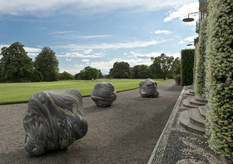 The land art of Peter Randall-Page at Villa Panza - VareseNews | Sculpture Nature | Scoop.it