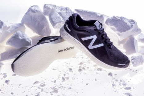 New Balance annonce la mise en vente de ses chaussures imprimées en 3D | Domotique,objets connectés, imprimantes 3D | Scoop.it