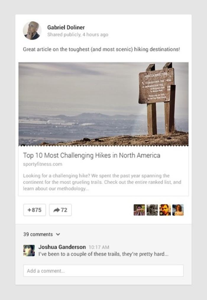 Google+ Platform — Google Developers | Business in a Social Media World | Scoop.it