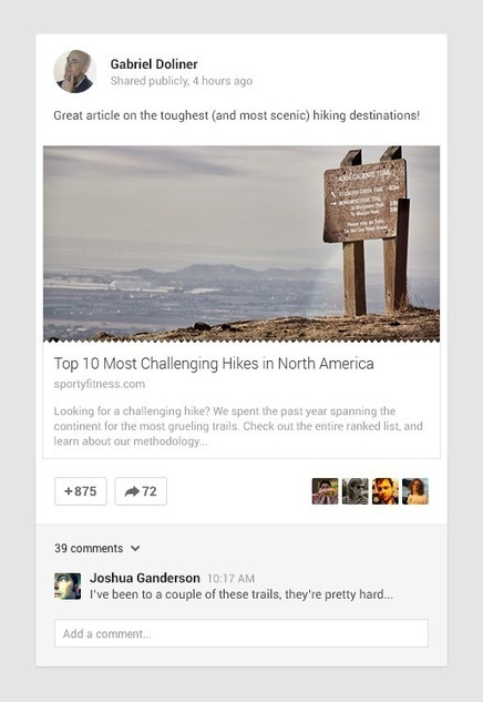 Article Rendering On #GooglePlus - Images and Snippets | GooglePlus Expertise | Scoop.it