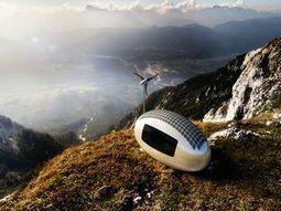 Cette petite capsule autosuffisante vous permet d'habiter n'importe où sur la planète | Solutions alternatives pour un monde en transition | Scoop.it