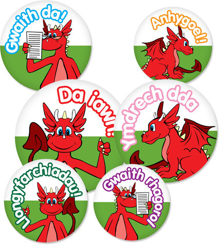 Welsh Language Pack 1 | Stickers Ahoy | School stickers & reward stickers for teachers and classroom merits - Next day UK delivery | Methodoleg | Scoop.it