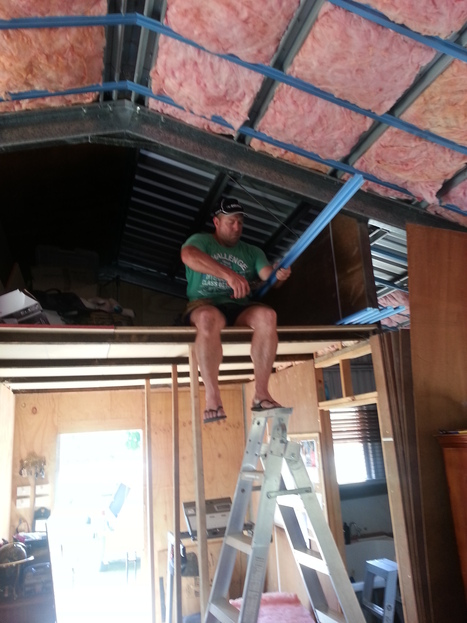 Installing insulation | Quest Two | Scoop.it