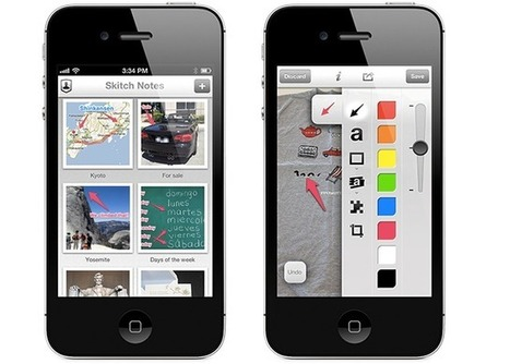 Evernote Skitch 2.0 brings rich annotations to iPhone and iPad, Android coming soon | MobileSyrup.com | eBooks, eReaders, Tablets and Libraries | Scoop.it