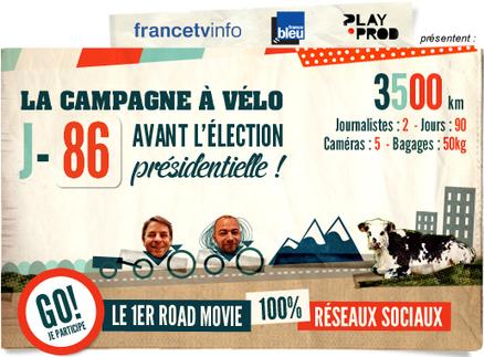 La campagne à vélo de Raphael Krafft et Alexis Monchovet - Atelier des médias | Radio 2.0 (En & Fr) | Scoop.it