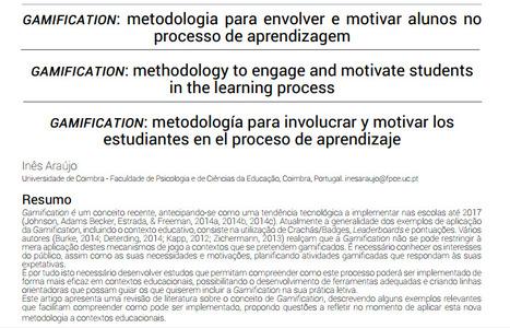 Gamification: metodología para envolver y motivar alumnos en el proceso de aprendizaje | Maestr@s y redes de aprendizajes | Scoop.it