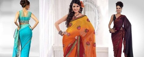 Buy Indian saris online | Buy indian apparel | Scoop.it