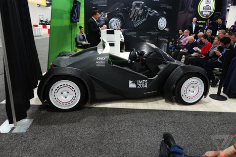 Local Motors just 3D-printed a car live at an auto show | Embodied Zeitgeist | Scoop.it