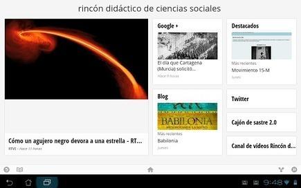 Nuevas mejoras para el rincón | Recursos educativos para Bachillerato, Geografía e Historia | Scoop.it