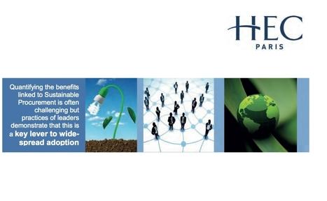 Baromètre HEC Achats Responsables : la RSE devient une priorité | Stratégie | Scoop.it