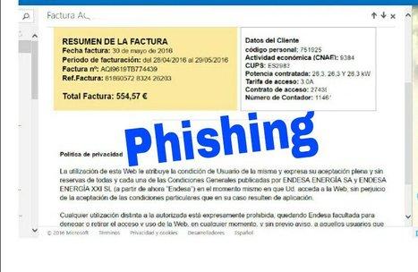 ALERTA: ¡No hagas click! La estafa de la factura falsa de Endesa   Informática Forense   Scoop.it