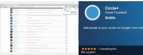 Extensión para añadir a Google + los perfiles que vemos en una web   De interés educativo   Scoop.it