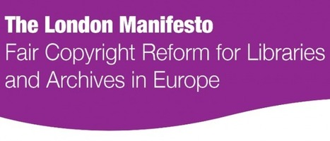 The London Manifesto | CILIP | Higher education news for libraries and librarians | Scoop.it