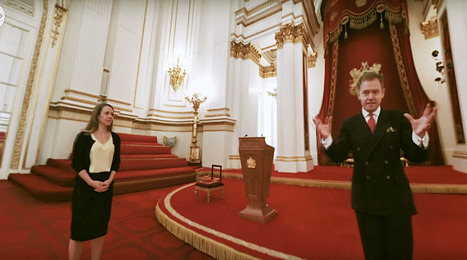 Buckingham Palace virtual reality tour will make you dream of high tea with the Queen | Tourism Social Media | Scoop.it