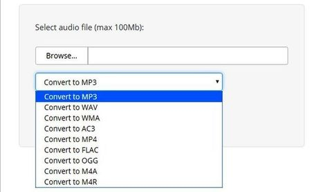 AudioConverto: utilidad web para convertir archivos de audio | Las TIC en el aula de ELE | Scoop.it
