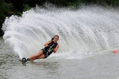 Ski nautique : Emma prépare les Championnats d'Europe à Orthez - Sud Ouest | French DB home | Scoop.it