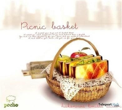 Picnic Basket Gift By Poche   Teleport Hub - Second Life Freebies   Second Life Freebies   Scoop.it