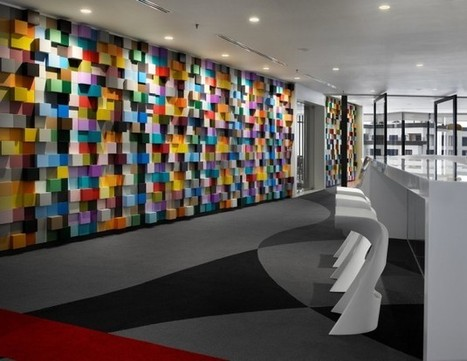 Sherwin-Williams Office by M Moser Associates » CONTEMPORIST | bureau : espace innovant | Scoop.it