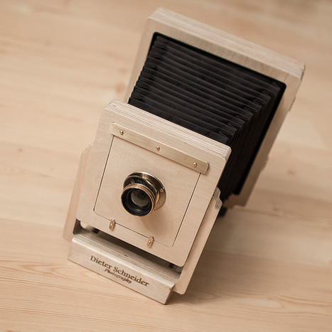 Building a 4x5 Wet Plate Camera Out of Plywood with a CNC Machine | L'actualité de l'argentique | Scoop.it