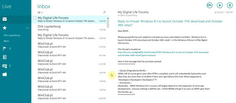 Discover Windows 8.1 Mail App New Features | Windows 8 Apps | Scoop.it