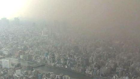 Japon : grosse tempête de poussière sur Tokyo  (+VIDEO) | Toxique, soyons vigilant ! | Scoop.it