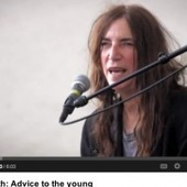 Patti Smith: Advice To the Young | glad.is | Spirituality & Philosophy | Scoop.it