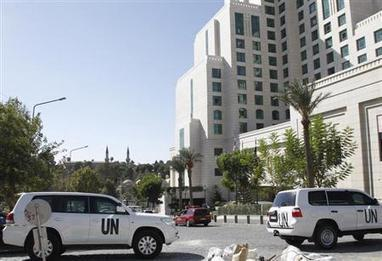 Chemical weapon inspectors unable to reach two Syrian sites - Reuters | Syria CW | Scoop.it