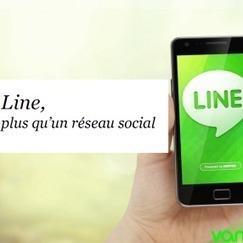 Line, plus qu'un réseau social | News Social Media | Scoop.it