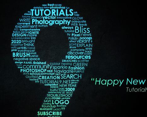 22 Stunning Typography Tutorials on Photoshop | web design | Scoop.it