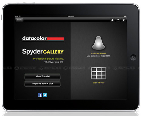 Datacolor introduces color calibration app for iPad | Photography Gear News | Scoop.it