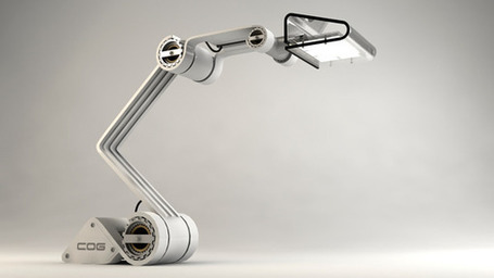 COG - Work Lamp by Otto Polefko | Art, Design & Technology | Scoop.it