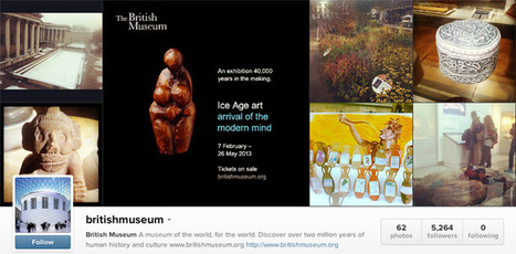 The 30 Most Active Museums on Instagram | Nitrogram | Digital Museums | Scoop.it