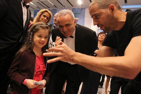 Mark of 'genius': Liberty Science Center honors Richard Branson, Garry Kasparov | Health Dental | Scoop.it