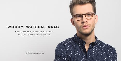 Lunettes de vue - lunettes de soleil - montures de lunettes - lunettes vintage - Jimmy Fairly | Opticiens en ligne français actualités | Scoop.it