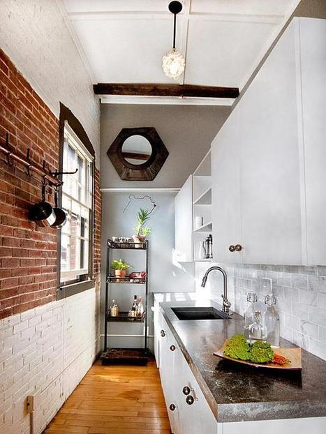 Incorporating Exposed Bricks In Stylish Designs Around The House | KOUBOO.com - Well Traveled Home Decor & Interior Design | Scoop.it
