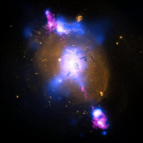Twitter / milenio_ciencia: FOTO: Galaxia 4C+29.30, a 850 ... | El universo. | Scoop.it