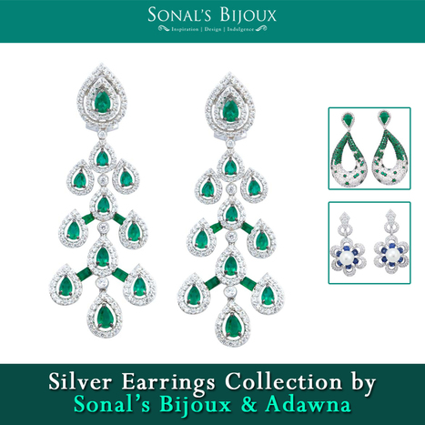 Silver Earrings Shopping in India- Why Ladies are Going Online? - Silver Bangles & Bracelets Online for Women in India | Sonals Jewellery | Scoop.it
