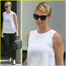 Charlize Theron Inspires Selena Gomez with Fashion ... - Just Jared | fashion | Scoop.it