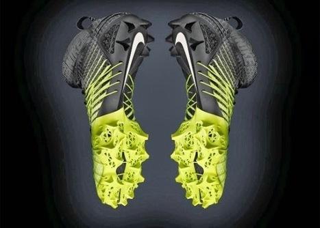 Print3d World: Nike lanza un nuevo par de zapatillas parcialmente impresas en 3D | 3d design and printing | Scoop.it
