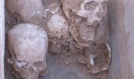 Descubiertos curiosos entierros de 9.000 años de antigüedad con los huesos ordenados | ArqueoNet | Scoop.it