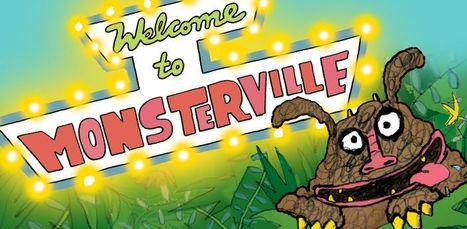 Welcome to Monsterville < What's on < Discover | Transmedia 4 Kids: Creating Content For Children | Scoop.it