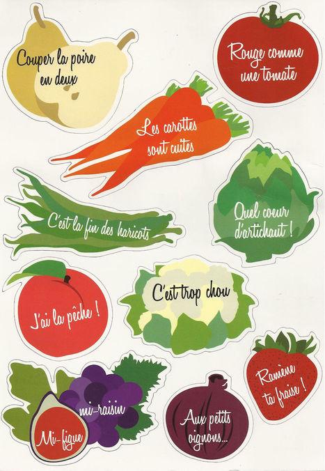 Et vous, connaissez-vous ces #expressions avec des #fruits et #légumes ? | le français à table | Scoop.it
