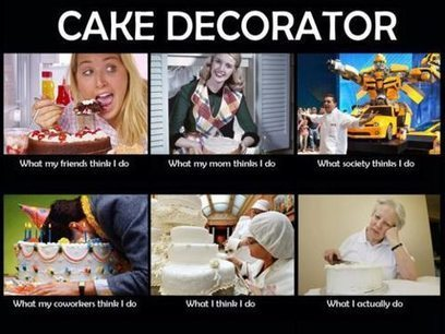 Cake Decorator | What I really do | Scoop.it